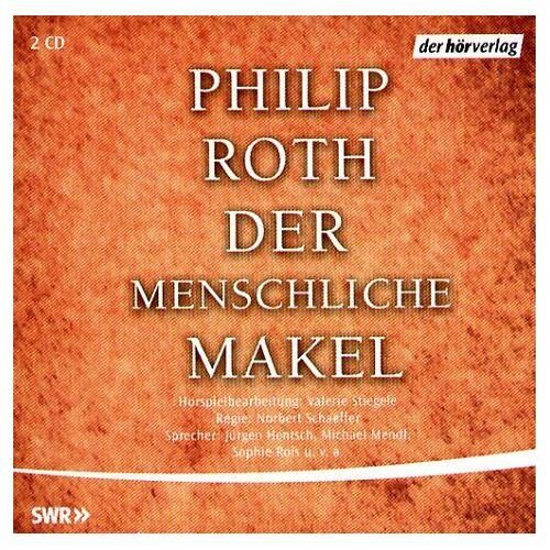 Roth Der Menschliche Makel. 2 CDs. - Preis vom 14.04.2021 04:53:30 h