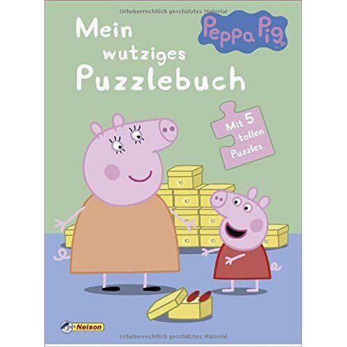 - Peppa: Mein wutziges Puzzlebuch: Mit 5 tollen Puzzles - Preis vom 01.03.2021 06:00:22 h