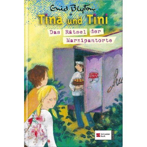 Enid Blyton - Tina und Tini, Band 08: Das Rätsel der Marzipantorte - Preis vom 16.04.2021 04:54:32 h