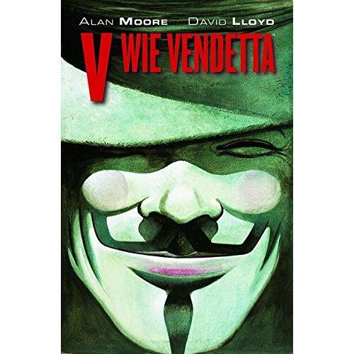 Alan Moore - V wie Vendetta Maskenedition: (limitierte Neuauflage mit V wie Vendetta-Maske) - Preis vom 28.02.2021 06:03:40 h