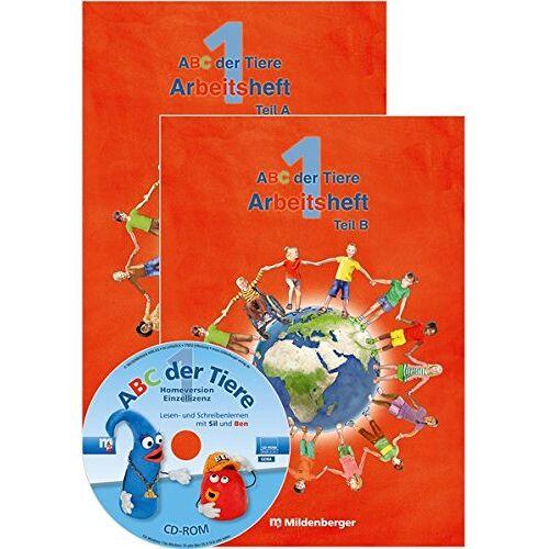 Klaus Kuhn - ABC der Tiere 1 - Arbeitsheft Grundschrift, Teil A und B · Neubearbeitung (ABC der Tiere - Neubearbeitung) - Preis vom 16.04.2021 04:54:32 h
