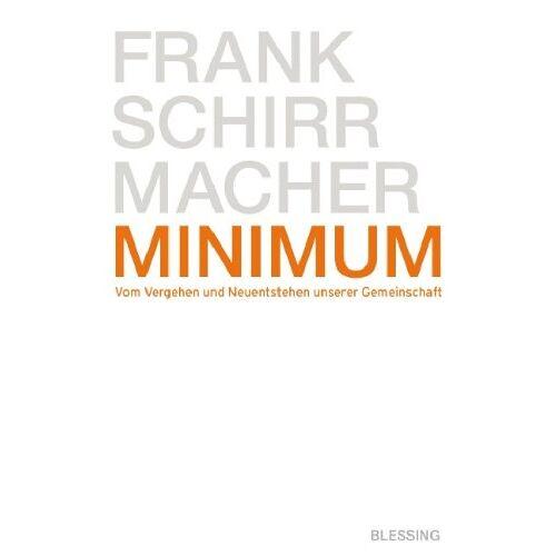 Frank Schirrmacher - Minimum - Preis vom 08.05.2021 04:52:27 h