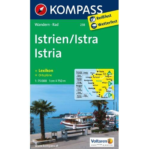 - Istrien / Istra / Istria 1 : 75 000: Wandern / Rad - Preis vom 05.03.2021 05:56:49 h