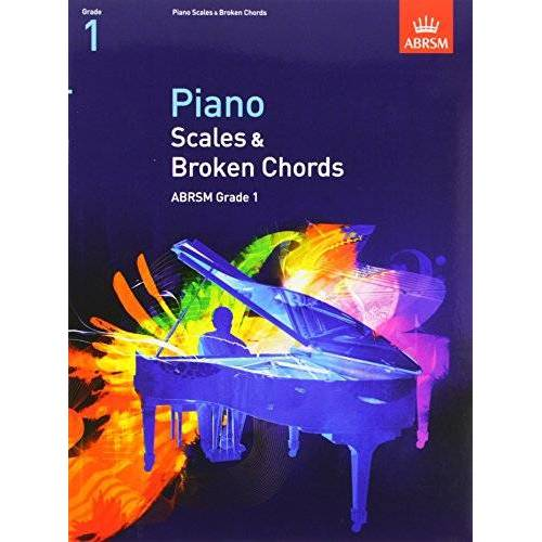 ABRSM - Piano Scales & Broken Chords, Grade 1 (Abrsm Scales & Arpeggios) - Preis vom 25.01.2021 05:57:21 h