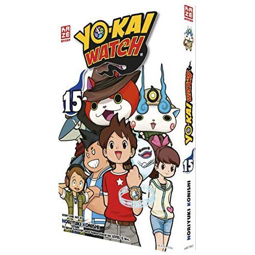 Noriyuki Konishi - Yo-kai Watch – Band 15 - Preis vom 12.04.2021 04:50:28 h