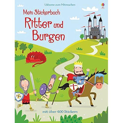 Lucy Bowman - Mein Stickerbuch: Ritter und Burgen - Preis vom 05.03.2021 05:56:49 h