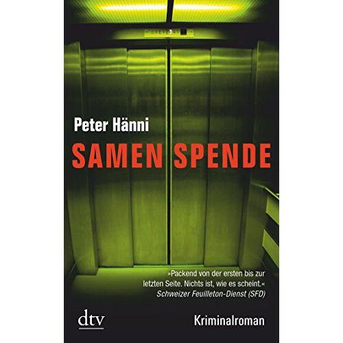 Peter Hänni - Samenspende: Kriminalroman - Preis vom 06.09.2020 04:54:28 h