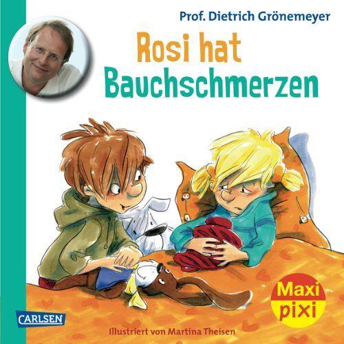 Grönemeyer, Prof. Dr. med. Dietrich - Maxi-Pixi Nr. 120: Rosi hat Bauchschmerzen - Preis vom 13.05.2021 04:51:36 h