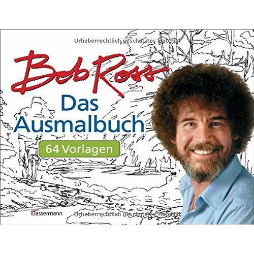 Bob Ross - Das Ausmalbuch: 64 Vorlagen - Preis vom 06.04.2021 04:49:59 h