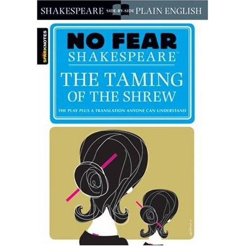 Shakespeare No Fear Shakespeare: Taming of the Shrew (Sparknotes No Fear Shakespeare) - Preis vom 05.03.2021 05:56:49 h