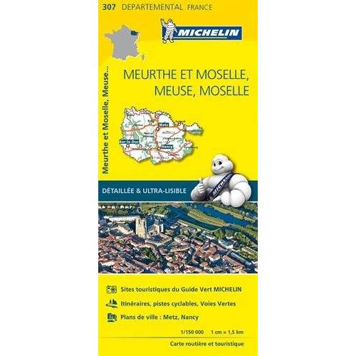 Michelin Carte Meurthe et Moselle, Meuse, Moselle Michelin - Preis vom 03.05.2021 04:57:00 h
