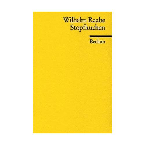 Wilhelm Raabe - Stopfkuchen - Preis vom 20.10.2020 04:55:35 h