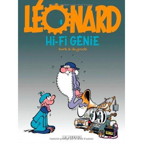 - Léonard, tome 4 : Hi-Fi génie - Preis vom 18.04.2021 04:52:10 h