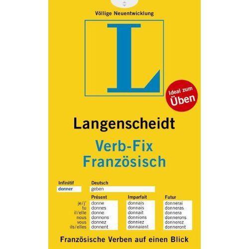 Langenscheidt, Redaktion von - Langenscheidt Verb-Fix Französisch - Verb-Fix (Langenscheidt Verb-Fixe) - Preis vom 05.09.2020 04:49:05 h