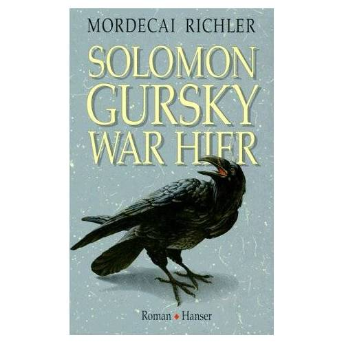 Mordecai Richler - Solomon Gursky war hier - Preis vom 05.09.2020 04:49:05 h