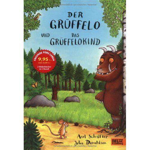 Axel Scheffler - Der Grüffelo und Das Grüffelokind: Grüffelo / Grüffelokind - Preis vom 20.10.2020 04:55:35 h