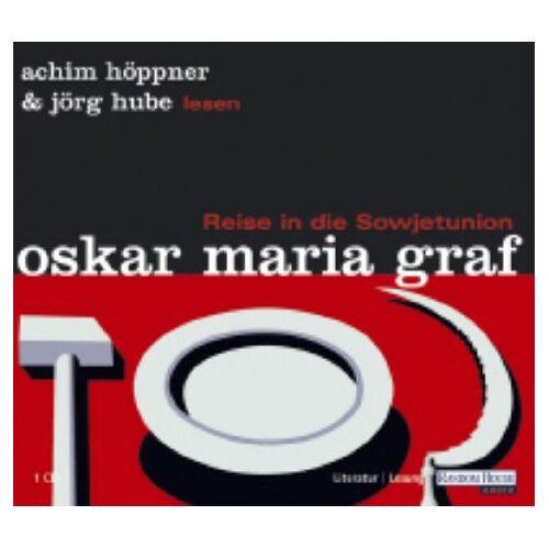 Graf, Oskar Maria - Reise in die Sowjetunion, 1 Audio-CD - Preis vom 06.09.2020 04:54:28 h