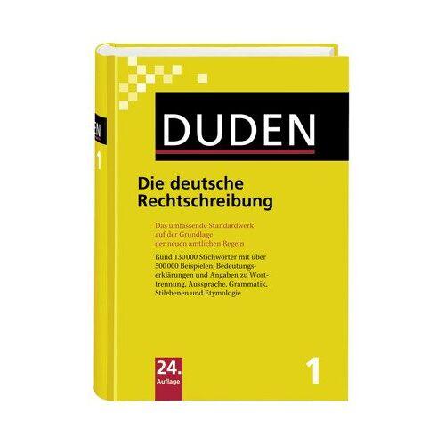 - Der Duden, Bd. 1: Duden Die deutsche Rechtschreibung, neue Rechtschreibung - Preis vom 18.04.2021 04:52:10 h
