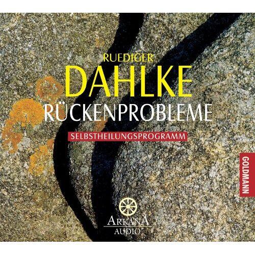 Ruediger Dahlke - Rückenprobleme: Selbstheilungsprogramm - Preis vom 16.05.2021 04:43:40 h