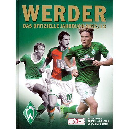 Werder Bremen - Werder - das offizielle Jahrbuch 2012/13 - Preis vom 28.02.2021 06:03:40 h