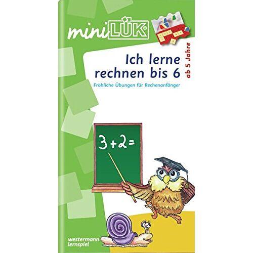 Heinz Vogel - miniLÜK / Schuleingangsphase: miniLÜK: Ich lerne rechnen bis 6: Fröhliche Übungen für Rechenanfänger für Kinder von 5 - 7 Jahren - Preis vom 10.05.2021 04:48:42 h