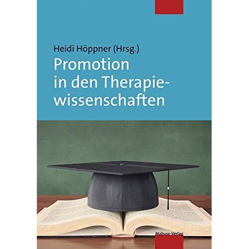 Heidi Höppner - Promotion in den Therapiewissenschaften - Preis vom 01.11.2020 05:55:11 h