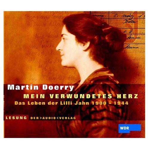 Martin Doerry - ' Mein verwundetes Herz'. 2 CDs: Das Leben der Lilli Jahn 1900 - 1944 - Preis vom 17.10.2020 04:55:46 h