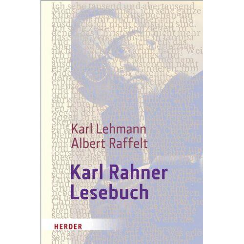 Karl Rahner - Karl Rahner-Lesebuch - Preis vom 09.04.2021 04:50:04 h
