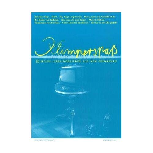 Richard Kula - Klimper-Spaß 1. Meine Lieblingslieder aus dem Fernsehen für Klavier / Keybord - Preis vom 21.10.2020 04:49:09 h