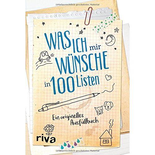 - Was ich mir wünsche in 100 Listen: Ein originelles Ausfüllbuch - Preis vom 16.04.2021 04:54:32 h