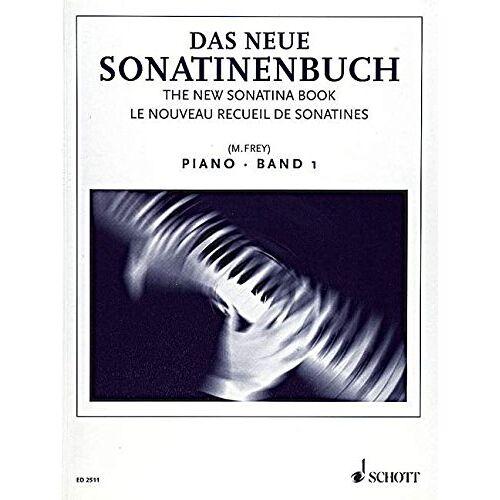 Martin Frey - Das neue Sonatinenbuch: Sonatinen und Stücke. Band 1. Klavier. - Preis vom 17.04.2021 04:51:59 h