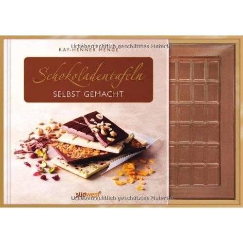 Kay-Henner Menge - Schokoladentafeln selbst gemacht-Set: Buch mit Gießform - Preis vom 05.09.2020 04:49:05 h