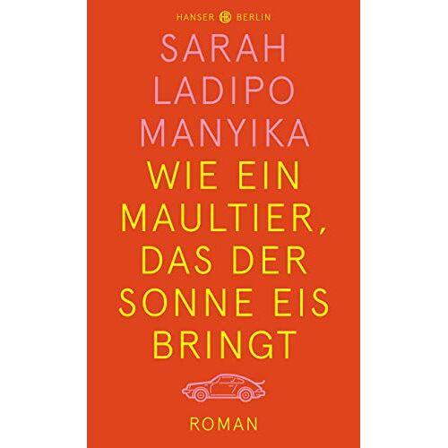Manyika, Sarah Ladipo - Wie ein Maultier, das der Sonne Eis bringt - Preis vom 18.02.2020 05:58:08 h
