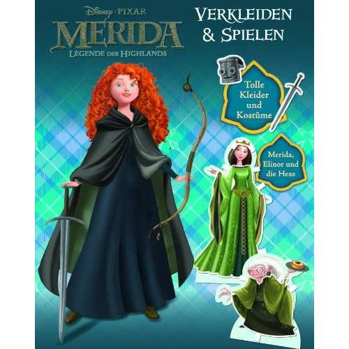 Disney Merida Anziehpuppen - Preis vom 18.10.2020 04:52:00 h
