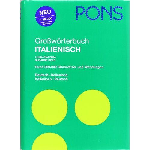 Luisa Giacoma - PONS Großwörterbuch Italienisch: Deutsch-Italienisch /Italienisch-Deutsch - Preis vom 05.05.2021 04:54:13 h