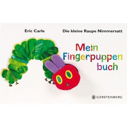Eric Carle - Die kleine Raupe Nimmersatt - Mein Fingerpuppenbuch - Preis vom 17.04.2021 04:51:59 h