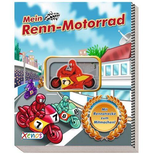 - Mein Renn-Motorrad: mit Rennstrecke zum Mitmachen und aufziehbarem Motorrad. - Preis vom 05.09.2020 04:49:05 h