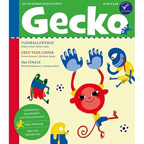 Brigitte Schär - Gecko Kinderzeitschrift Band 66: Die Bilderbuchzeitschrift - Preis vom 21.01.2021 06:07:38 h