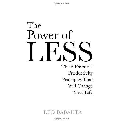 Leo Babauta - Power of Less - Preis vom 18.04.2021 04:52:10 h