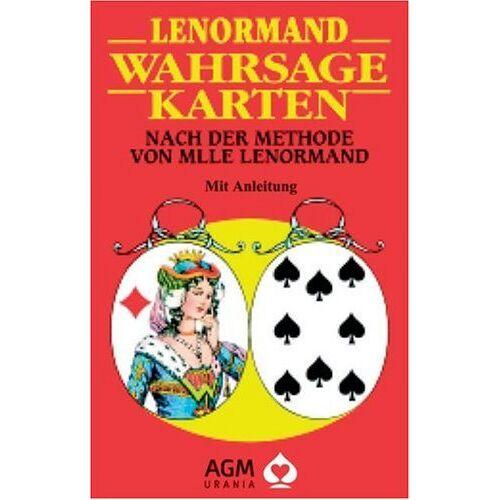 Lenormand, Marie-Anne A. - Lenormand Wahrsagekarten. 36 farbige Karten: Nach der Methode von Mlle Lenormand - Preis vom 05.09.2020 04:49:05 h