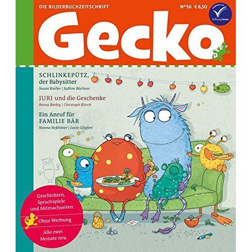 Susan Kreller - Gecko Kinderzeitschrift Band 56: Die Bilderbuch-Zeitschrift - Preis vom 31.07.2020 04:57:15 h