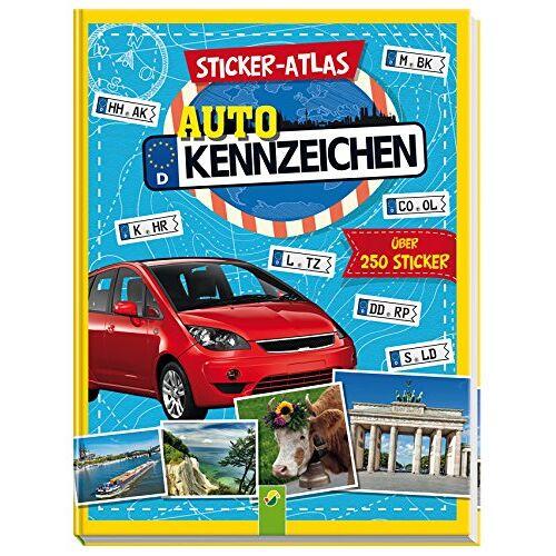 Sandra Noa - Sticker-Atlas Autokennzeichen: Über 250 Sticker - Preis vom 03.05.2021 04:57:00 h