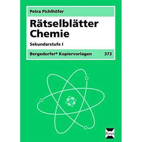 Petra Pichlhöfer - Rätselblätter Chemie: 5. bis 10. Klasse - Preis vom 08.03.2021 05:59:36 h