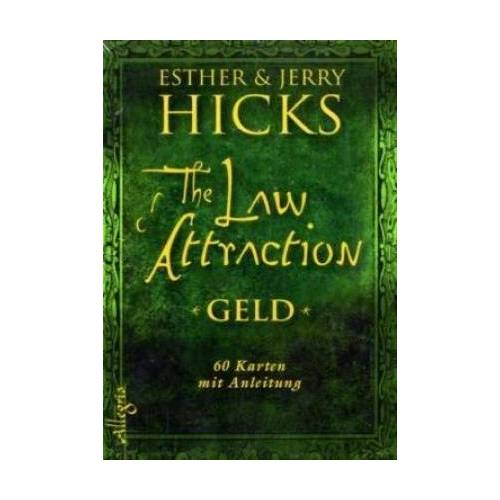 Esther Hicks - The Law of Attraction - Geld - Das Orakel (Kartendeck): 61 Karten mit Anleitung: 60 Karten mit Anleitung - Preis vom 03.05.2021 04:57:00 h
