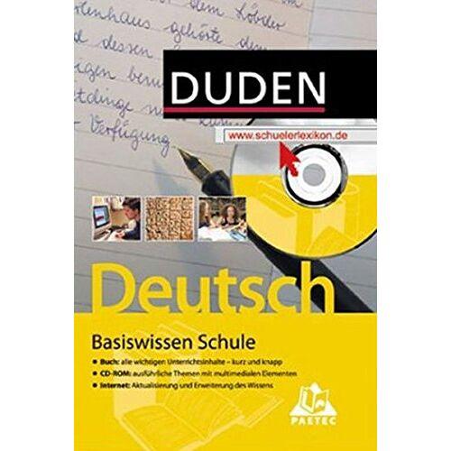 Simone Felgentreu - Duden Basiswissen Schule - Deutsch, m. CD-ROM - Preis vom 24.06.2020 04:58:28 h