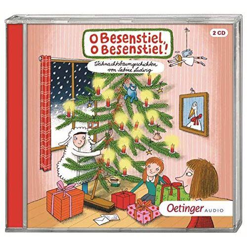 Sabine Ludwig - O Besenstiel, o Besenstiel!: Weihnachtsbaumgeschichten von Sabine Ludwig (2CD) - Preis vom 05.04.2020 05:00:47 h