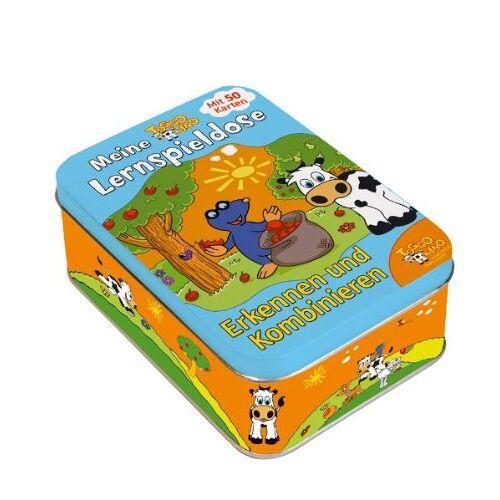 - Toggolino Meine Lernspieldose Erkennen & Kombinieren: Metallbox mit 50 Lernspiel-Karten - Preis vom 27.11.2020 05:57:48 h