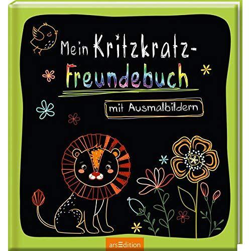 - Mein Kritzkratz-Freundebuch mit Ausmalbildern - Preis vom 31.03.2020 04:56:10 h