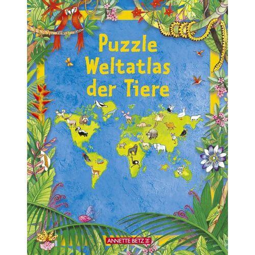 - Puzzle Weltatlas der Tiere - Preis vom 21.01.2021 06:07:38 h