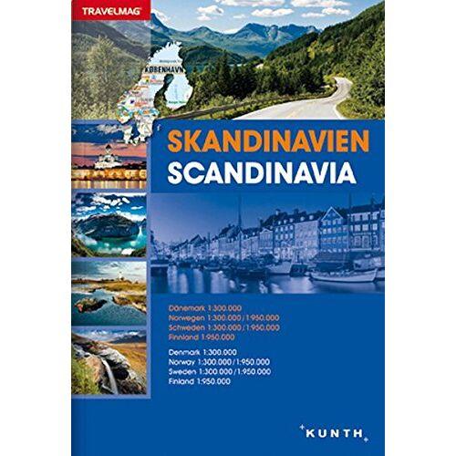 KUNTH Verlag GmbH & Co. KG - Reiseatlas Skandinavien: 1:300000 / 1:950000 (KUNTH Reiseatlanten) - Preis vom 22.02.2021 05:57:04 h